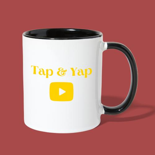 Tap&Yap Official Gear - Contrast Coffee Mug