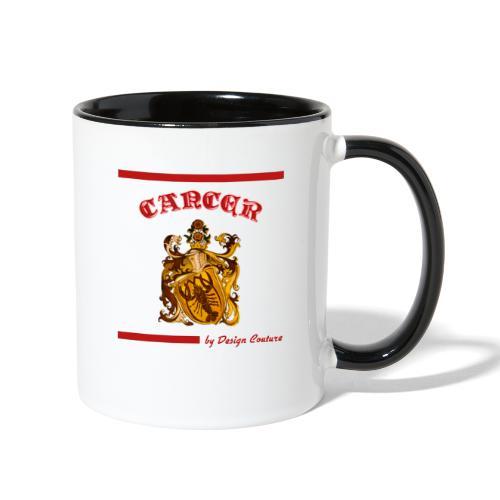 CANCER RED - Contrast Coffee Mug