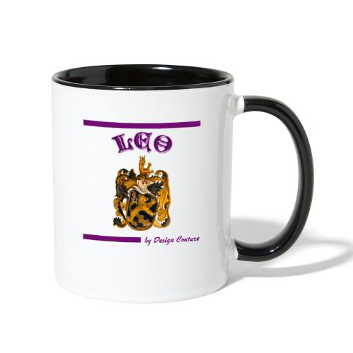 LEO PURPLE - Contrast Coffee Mug