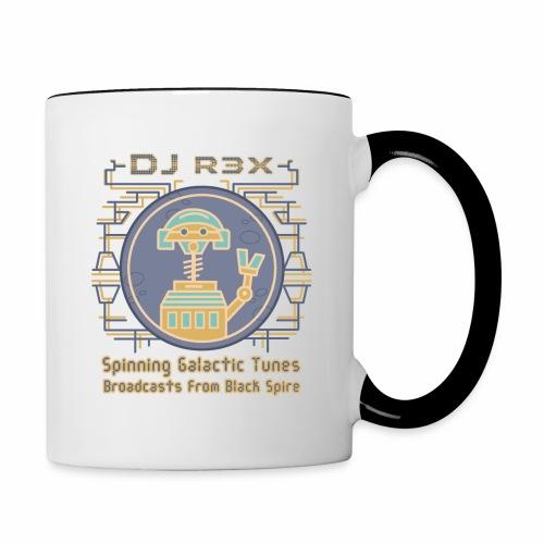Galactic Tunes - DJ R3X - Contrast Coffee Mug