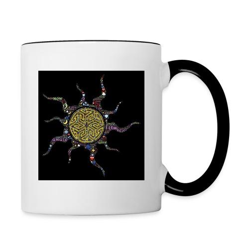 awake - Contrast Coffee Mug