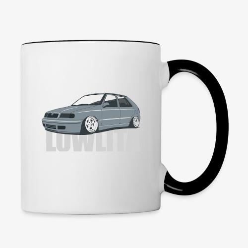 felicia lowlita - Contrast Coffee Mug