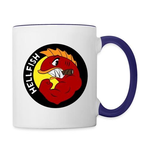 Hellfish - Flying Hellfish - Contrast Coffee Mug