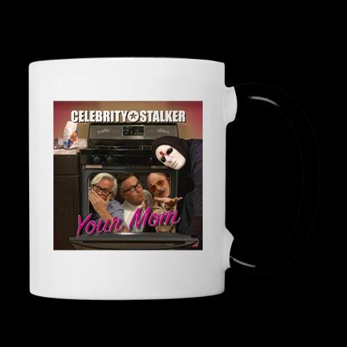 Your Mom Cover Art - Contrast Coffee Mug