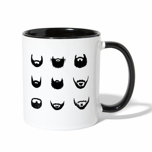 Beards - Contrast Coffee Mug