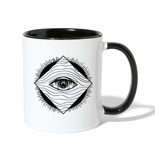EYE see you - Contrast Coffee Mug