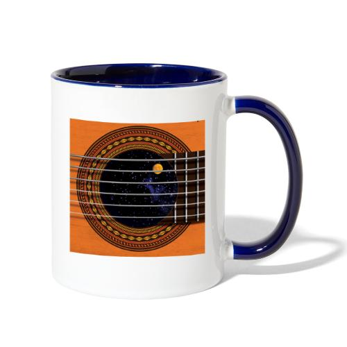 Cool Guitar Soundhole - Contrast Coffee Mug
