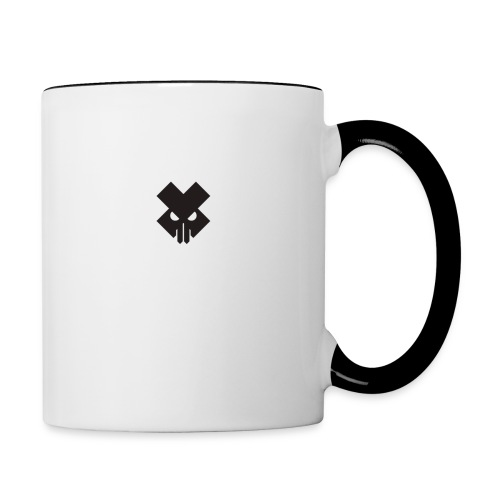 T.V.T.LIFE LOGO - Contrast Coffee Mug