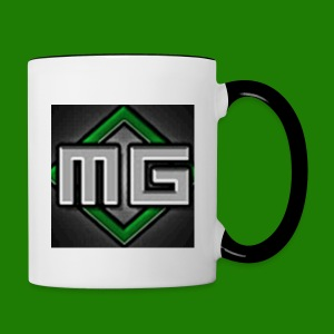 MrGreenGaming Logo Phone Cases - Contrast Coffee Mug