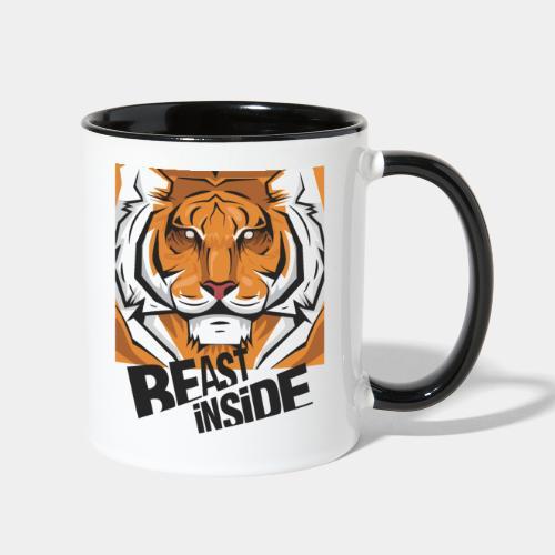 beast - Contrast Coffee Mug