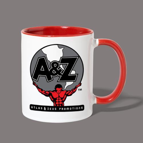 A Z Logo Randy Santel - Contrast Coffee Mug