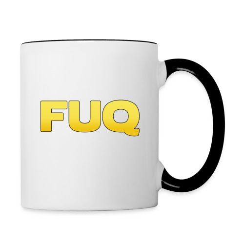 FUQ_SP_logo(border) - Contrast Coffee Mug
