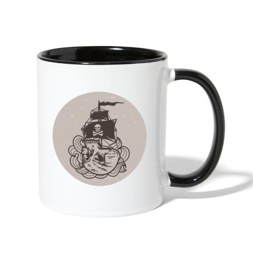 Skullship - Contrast Coffee Mug