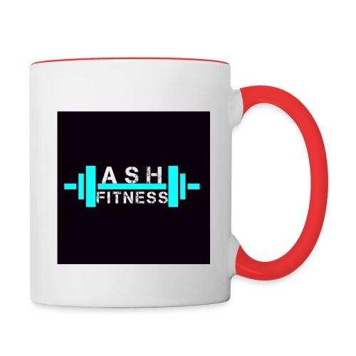 ASH FITNESS ACCESSORIES - Contrast Coffee Mug