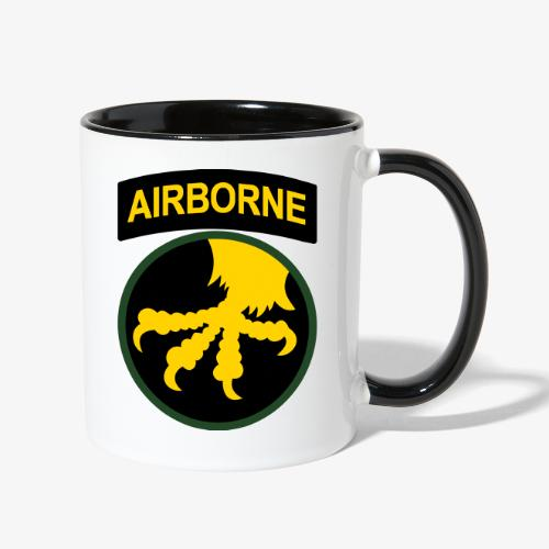 17th Airborne division - Contrast Coffee Mug