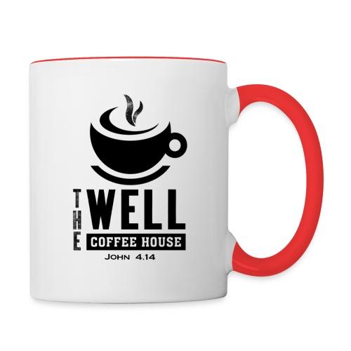 TWCH Verse Black back - Contrast Coffee Mug