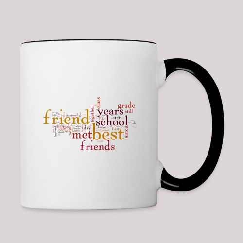 Best Gift For a Friend - Contrast Coffee Mug
