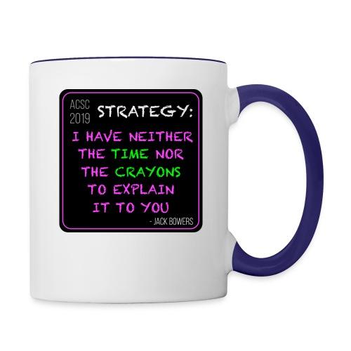 Strategy - Contrast Coffee Mug