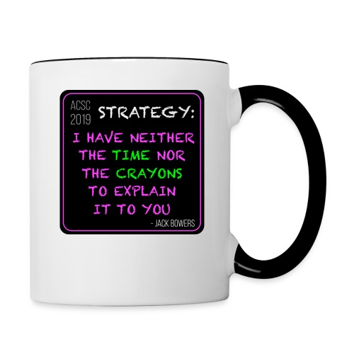 Strategy - Contrast Coffee Mug