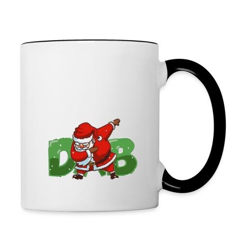 Dabbing Santa - Contrast Coffee Mug