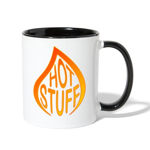 Hot Stuff Flame - Contrast Coffee Mug