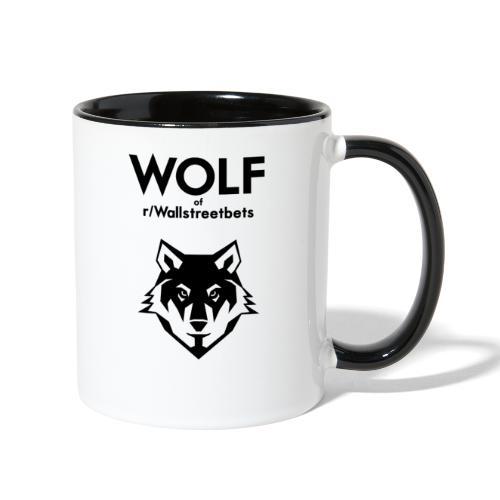 Wolf of Wallstreetbets - Contrast Coffee Mug