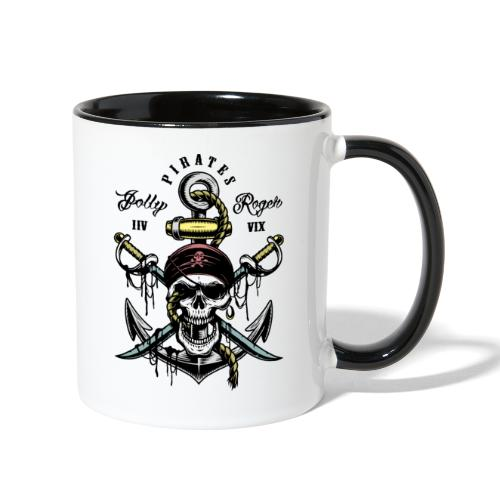 pirates - Contrast Coffee Mug