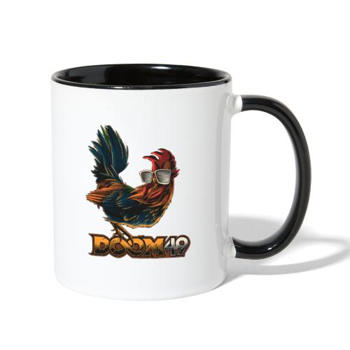 DooM49 Chicken - Contrast Coffee Mug