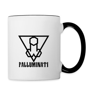 Falluminati on your phone by Umberto Lizard - Contrast Coffee Mug
