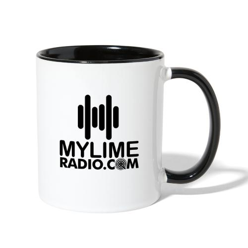 MyLimeRadio MAIN LOGO (Solid) - Contrast Coffee Mug