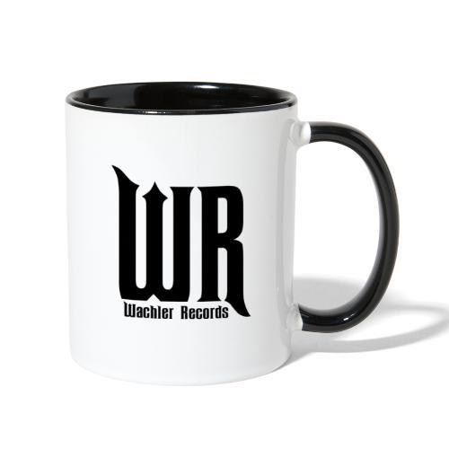 Wachler Records Dark Logo - Contrast Coffee Mug