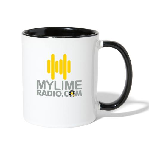 MyLimeRadio Main LOGO (Tri Colour) - Contrast Coffee Mug
