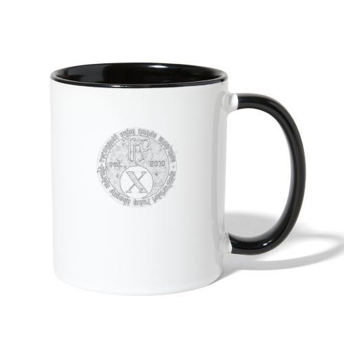 TCF 10th Anniversary (Grey) - Contrast Coffee Mug