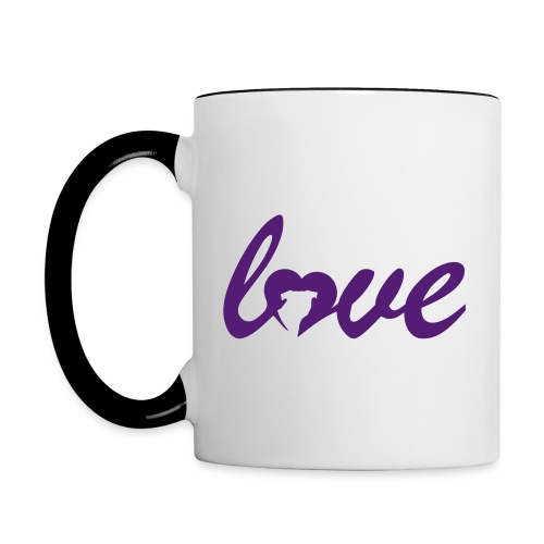 Dog Love - Contrast Coffee Mug