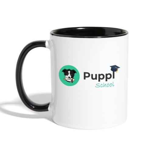 Puppl School - Full - Version 1 - Contrast Coffee Mug