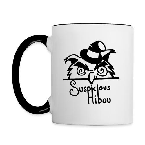 LOGO large - Contrast Coffee Mug