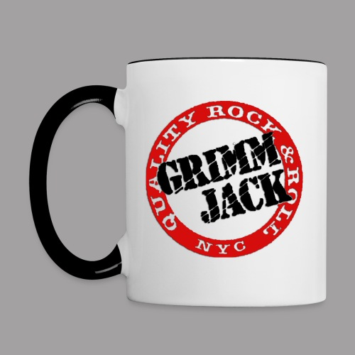 GJ BlackRed - Contrast Coffee Mug