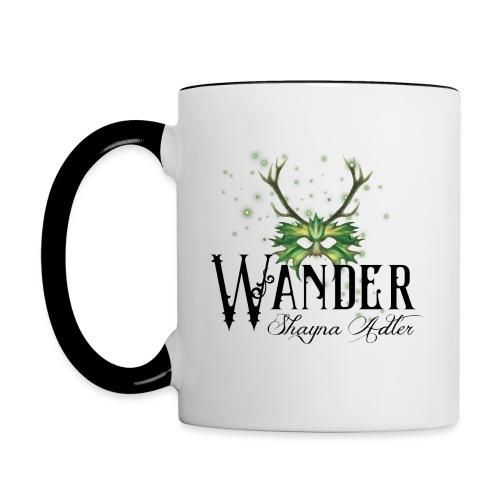 Wander in Green - Contrast Coffee Mug