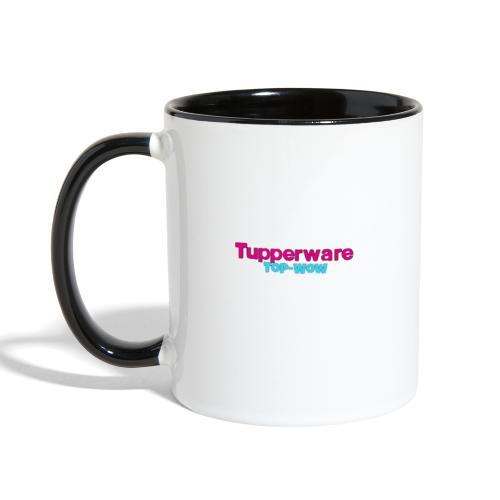 Tupperware top Wow - Contrast Coffee Mug