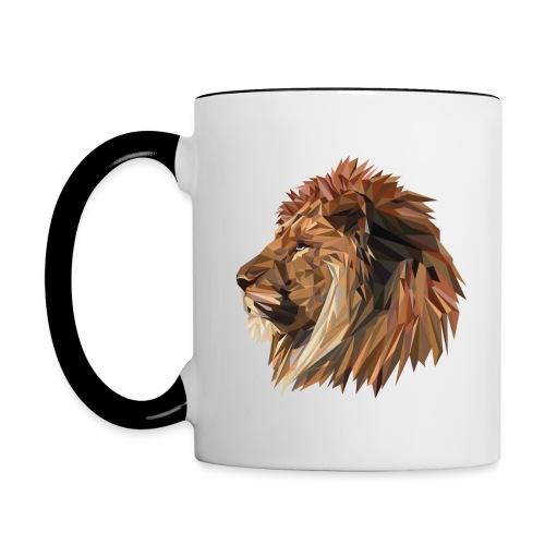 Abstract Lion - Contrast Coffee Mug