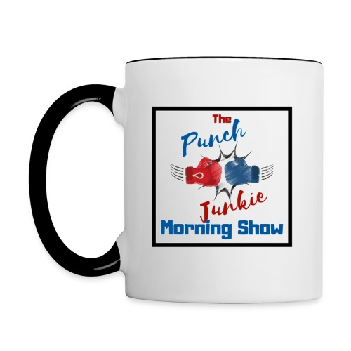 The Punch Junkie Morning Show - Contrast Coffee Mug