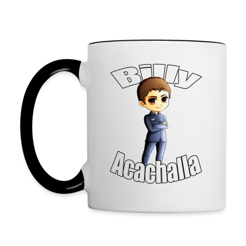 Billy acachalla copy png - Contrast Coffee Mug