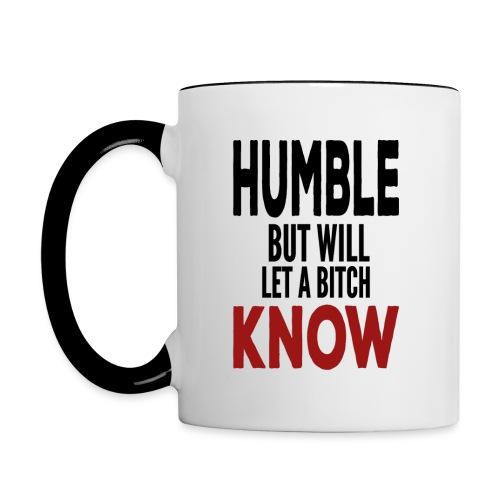 humble3 - Contrast Coffee Mug