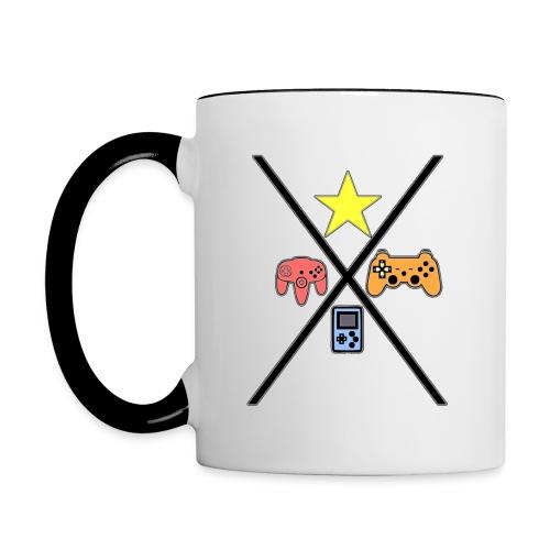 Game concoles - Contrast Coffee Mug