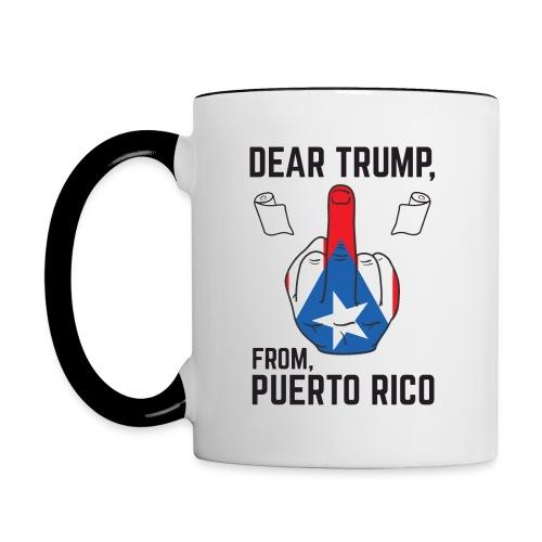 Dear-45 - Contrast Coffee Mug