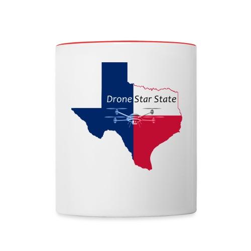 Drone Star State - Contrast Coffee Mug