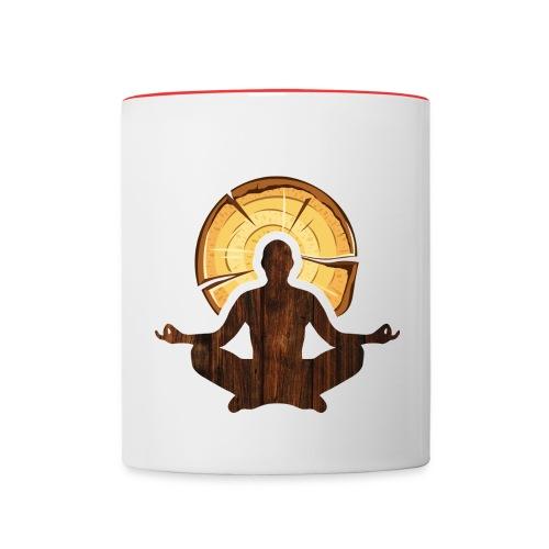 t shirt logo only - Contrast Coffee Mug