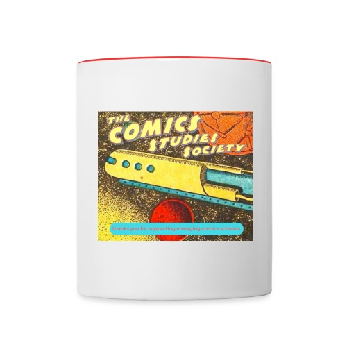 thanks you for supporting emerging comics scholars - Contrast Coffee Mug