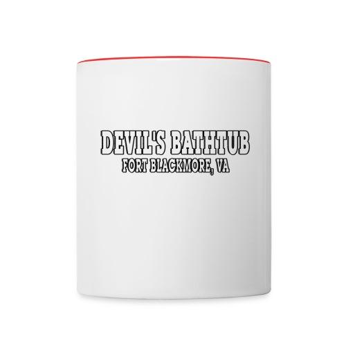 Devil's Bathtub - Contrast Coffee Mug