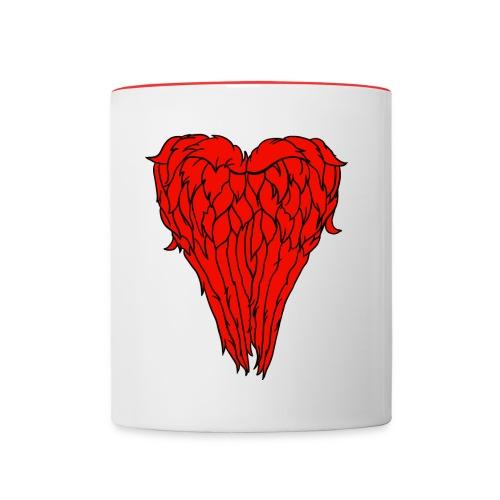 I love Daryl Dixon Wings - Contrast Coffee Mug